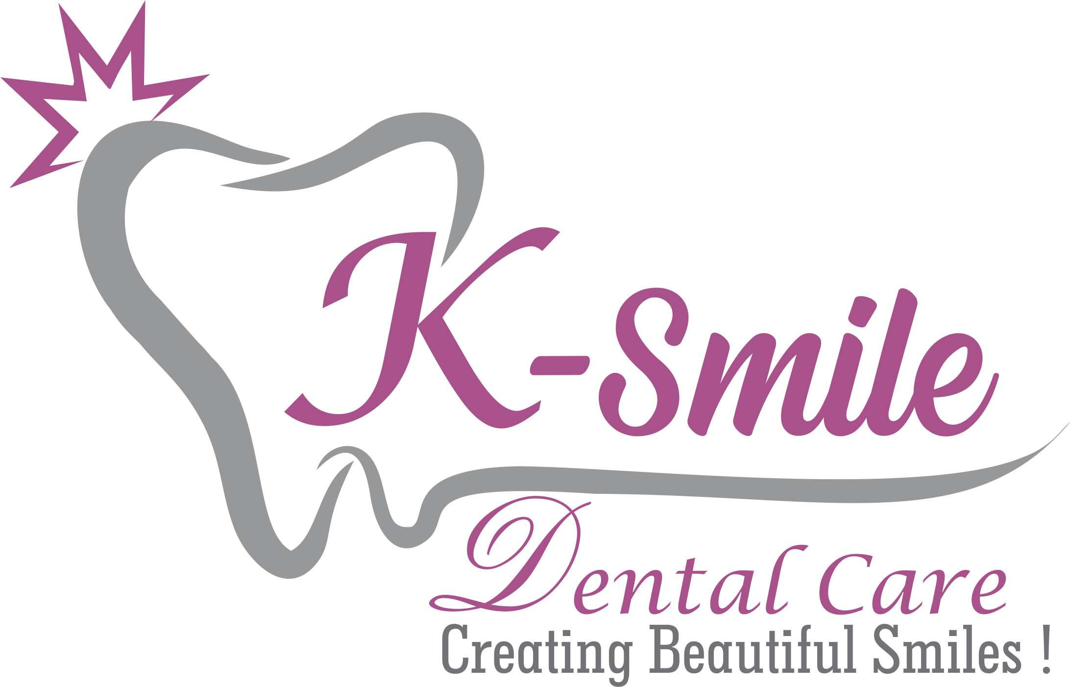 K smile Dental Care - Logo